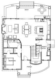 images about House Plans on Pinterest   Floor Plans    Contemporary Floor Plan Houzz Tour  Coastal New England Style Meets Pacific Northwest Modern