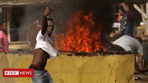 Coronavirus: <b>Ivory Coast</b> protesters target testing centre - BBC News