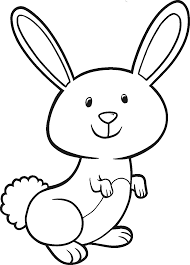 Small Picture Bunny Coloring Pages GetColoringPagescom