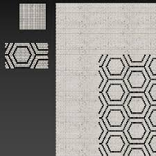 <b>Atlas Concorde Marvel Pro</b> Mosaico Honeycomb - 3D Model for ...