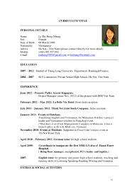 cv le thi hong nhung as of jan online
