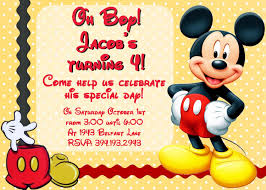 mickey mouse clubhouse birthday invitations card invitation mickey mouse birthday invitations photo