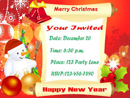 christmas party invitation word template wedding invitation sample 14 diy printable christmas invitations templates hloom com