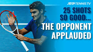 25 <b>Tennis</b> Shots SO GOOD the Opponent Had to Applaud - YouTube