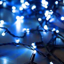 Гирлянда светодиодная GLOS Нить 100 LED свечение синее 10 ...