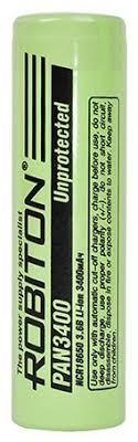 <b>Аккумулятор</b> Li-Ion 3400 мА·ч <b>ROBITON 18650 PAN3400</b> ...