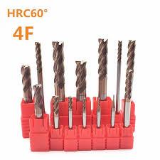 Special price HRC60 4 <b>slot</b> 4mm 8mm 10mm 12mm high quality ...