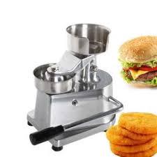 <b>Manual hamburger</b> press 100mm-130mm <b>burger</b> forming machine ...