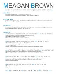 resume template curriculum vitae microsoft word 1333 85 marvellous resume format microsoft word template