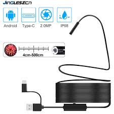 <b>Newest USB Snake Inspection</b> Camera 2.0 MP IP67 Waterproof ...