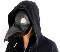 BUZZYFUZZY Plague Doctor MaskLong Nose Bird ... - Amazon.com