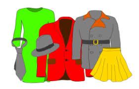 <b>Одежда</b> на немецком языке. Die Kleidung