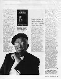 ayebia book details chinua achebe tributes and reflections eds nana ayebia clarke james currey oxfordshire uk 2014 pp 340