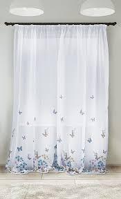 Купить <b>тюль</b> «Монч» белый, синий/голуб. по цене 2380 руб. с ...