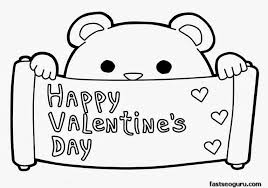 Small Picture Free Coloring Pages For Valentines Day Cool Simple I Love You