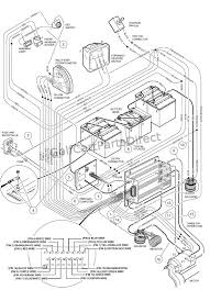 1998 1999 club car ds gas or electric club car parts & accessories Electric Car Wiring Diagram Switches wiring powerdrive plus Basic Car Wiring Diagram