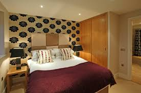 Orange Bedroom Wallpaper Desinger Room