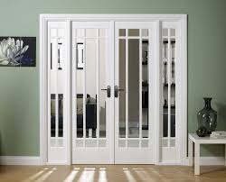 french kitchen double door glass
