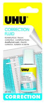 """<b>Корректирующая жидкость Uhu</b> """"Cover Up"""", 20 мл — купить в ..."""