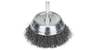 <b>Wire</b> cup brushes for drills – <b>Crimped wire</b>, Ø 75 mm   Bosch DIY
