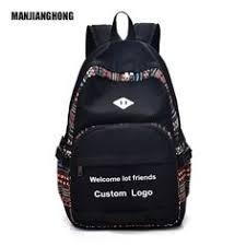 Custom school bag high quality casual <b>canvas</b> backpack | alibaba ...