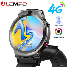 <b>LEMFO LEM13 4G Smart</b> Watch Men Dual Cameras 1.6inch Flip ...