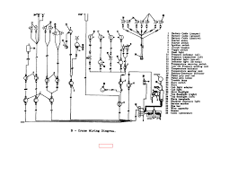 crane wiring diagram