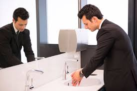all your bathroom etiquette questions answered reader s digest my boss and i walk into the restroom together am i supposed to carry on a conversation