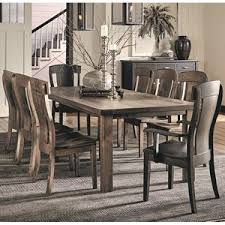 Daniel's Amish Eastchester <b>9 Piece Solid</b> Wood Table and Chair Set ...