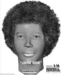 Police have created a computer generated picture of the second human remains, called Jane Doe as she hasn't been identified yet - article-2675070-1F4623D600000578-47_634x776