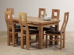 delivery dorset natural real oak dining set: dorset natural solid oak dining set ft quot extending table with  wave back