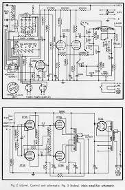 hi fi amplifier schematics c 1954 preservation sound the quad