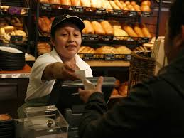 panera b is cutting back on cashiers business insider