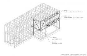 axo image courtesy naoi architecture design office architects sliding door office
