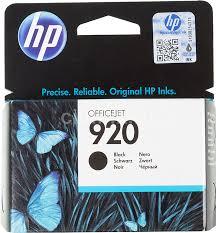 <b>Картридж HP 920</b>, черный [<b>cd971ae</b>]