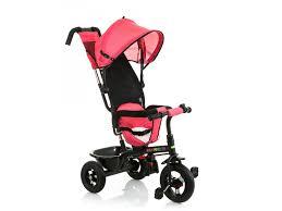 Трицикл <b>BabyHit</b>, <b>Kids Tour</b> XT красный под лён купить в детском ...