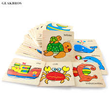 <b>Baby</b> 3D Puzzle Jigsaw <b>Wooden Toys</b> Kids Early Educational ...