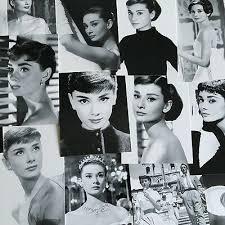 <b>Lots 30 pcs Retro</b> Audrey Hepburn Classic <b>Black &</b> White Postcard ...