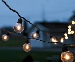 outdoor globe string lights photo