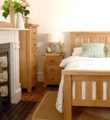 portland oak bed tall boy bedside cabinet bedside table fireplace bedroom furniture bedside cabinets mirror antique