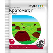 <b>Средство защиты от</b> кротов Кротомет Avgust 75 г - купите по ...