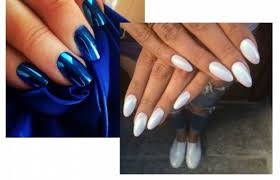 <b>Втирка для ногтей</b>: как сделать стильные зеркальные <b>ногти</b>