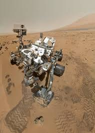 life on mars curiosity rover self portrait