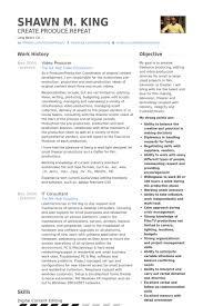 Video Editor Resume  cover letter production sample resume     aaa aero inc us