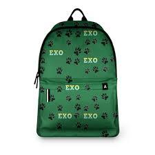 <b>Рюкзак 3D EXO</b> (следы) зеленый #2727181 – <b>рюкзаки</b> с ...