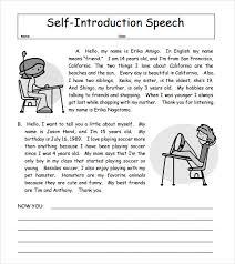 essay on self introduction   mlempem break through with resumeintroduction of speech essay