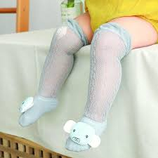 Baby <b>Summer Mesh Thin</b> Stockings Cotton Cartoon Doll <b>Children</b> ...