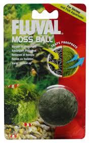 Купить Искусственное растение <b>Fluval Moss</b> Ball зеленый по ...