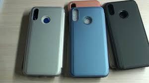 <b>Чехол</b>-<b>книжка</b> для <b>Huawei P</b> Smart Plus Mirror видеообзор ...