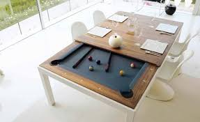 pool table dining tables: turn your dinner table into a pool table